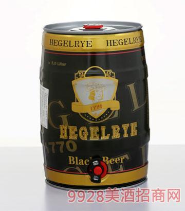 5L黑格尔黑啤酒