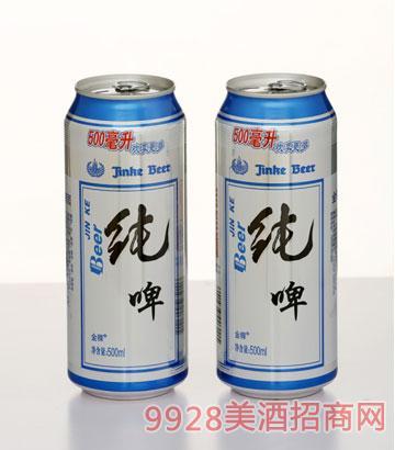 500ML金稞纯啤罐装