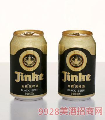 320ML金稞黑啤酒罐装