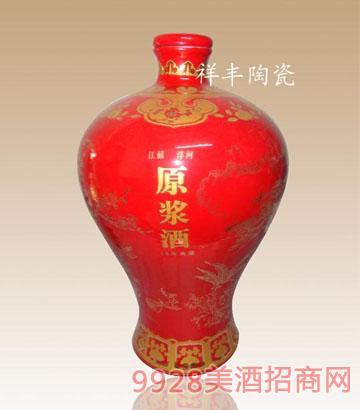 原浆酒2500ml中国红酒瓶