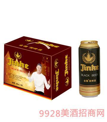 金稞啤酒黑罐