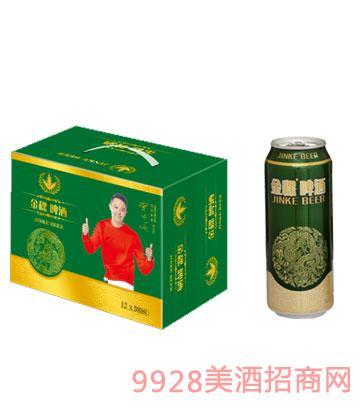 金稞啤酒龙罐