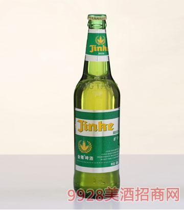 8°金稞啤酒绿标500ml