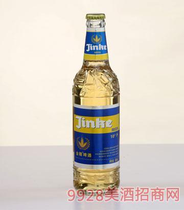 10°蓝标金稞啤酒