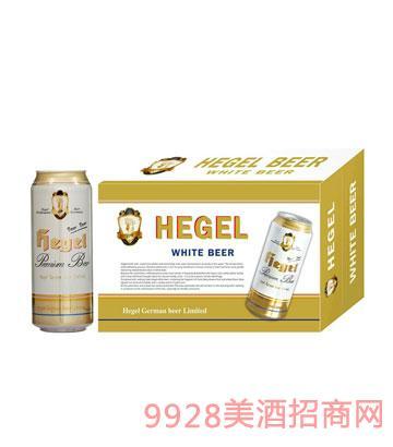 黑格尔白啤500ml箱装