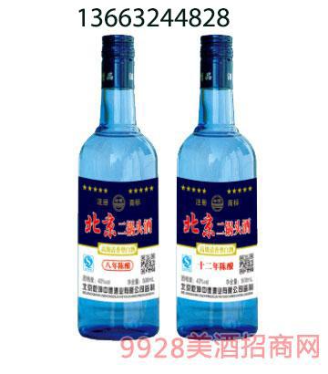 北京二锅头酒43度500ml