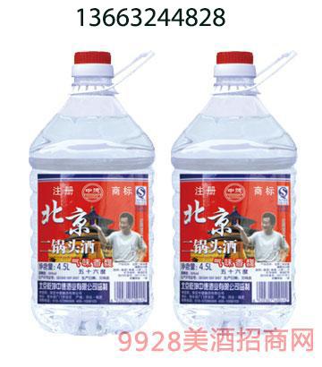 北京二锅头酒桶装50度56度4.5L