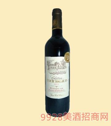 拉图理歌古堡干红葡萄酒