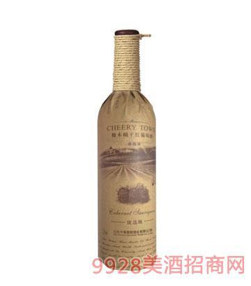 橡木赤霞珠干红葡萄酒