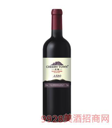 沃葡蛇龙珠干红葡萄酒A520