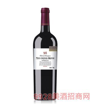 中法庄园葡萄酒98