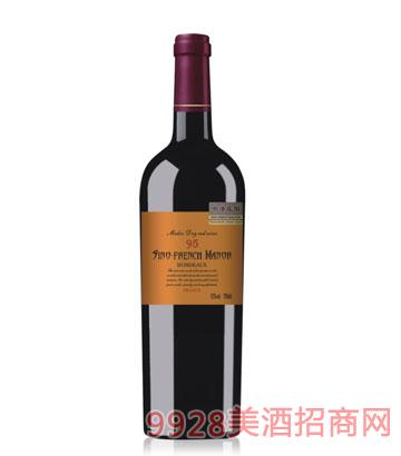中法庄园葡萄酒95