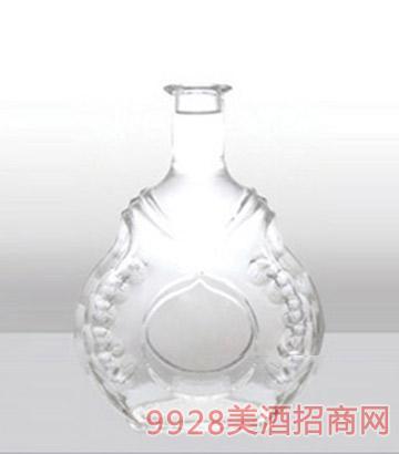 鄆城龍騰包裝精白玻璃瓶114威士忌-750ml