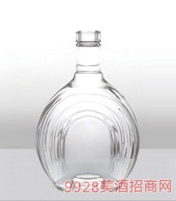 郓城龙腾包装精白玻璃瓶074威士忌-500ml