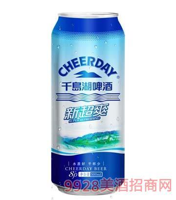 新超爽(蓝罐)啤酒