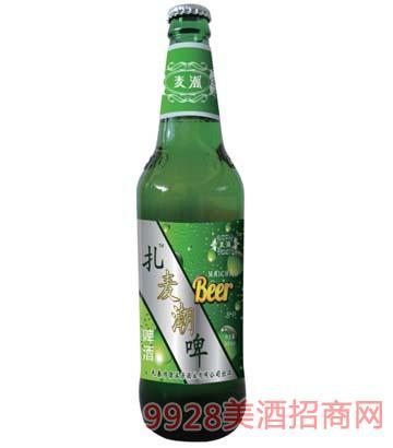 扎��潮啤啤酒�G瓶500ml