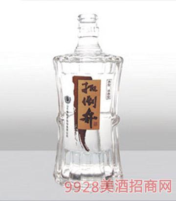�i城���v包�b精白玻璃瓶-457扳倒井-500ml