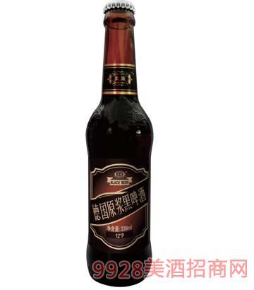 德��原�{黑啤酒