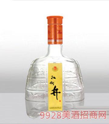 郓城龙腾包装精白玻璃瓶-447扳倒井黄标-500ml