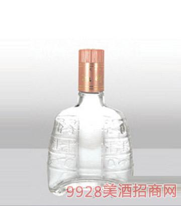郓城龙腾包装精白玻璃瓶-447扳倒井-115ml