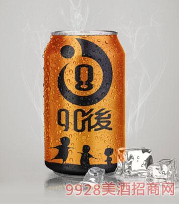 8090后青春活力啤酒黄罐