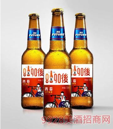8090后青春活力啤酒瓶装