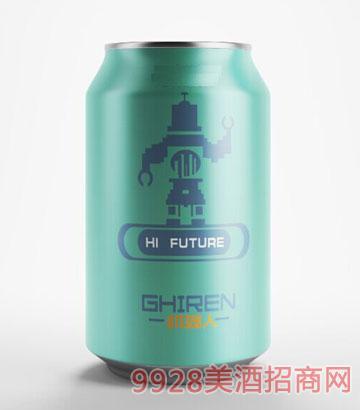机器人啤酒330ml浅蓝罐