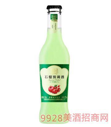 亚太石榴预调酒苹果味3.8度275ml