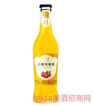 亚太石榴预调酒柠檬味3.8度275ml