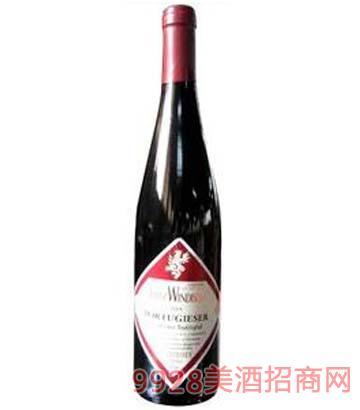 德国红钻甜红葡萄酒