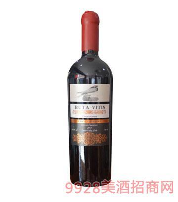智利醇洋之路赤霞珠家族珍藏干红葡萄酒