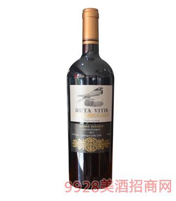 智利醇洋之路赤霞珠特级珍藏干红葡萄酒
