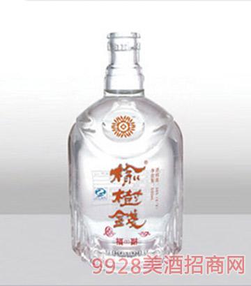 鄆城龍騰包裝精白玻璃瓶-374榆樹錢-500ml