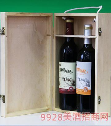 绿都林韵窖藏特制原汁+原汁葡萄酒混装
