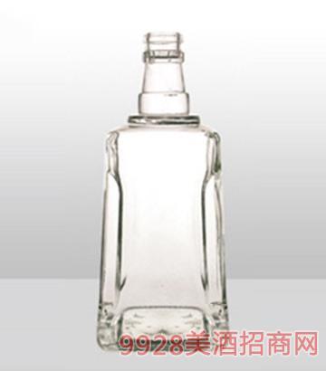 鄆城龍騰包裝精白玻璃瓶-607富貴酒-500ml
