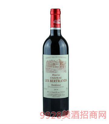 波尔多布拉依山丘干红葡萄酒