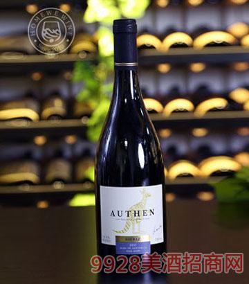 澳大利亚澳枫陈酿西拉红葡萄酒