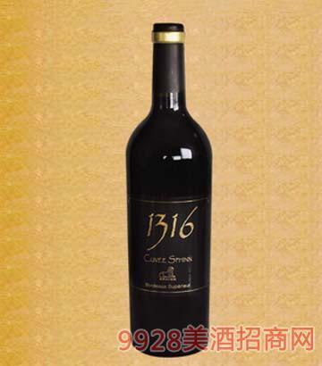 诗菲尼1316红葡萄酒