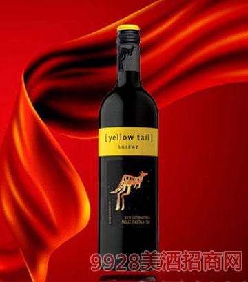 黄尾袋鼠设拉子红葡萄酒