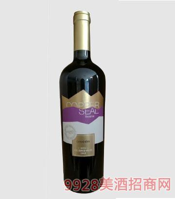 珍藏库铂 希尔赤霞珠红葡萄酒2014