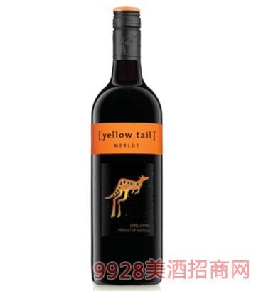 黄尾袋鼠 梅洛葡萄酒
