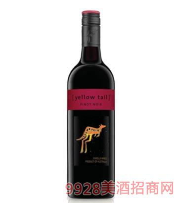 黄尾袋鼠 黑色诺干红葡萄酒