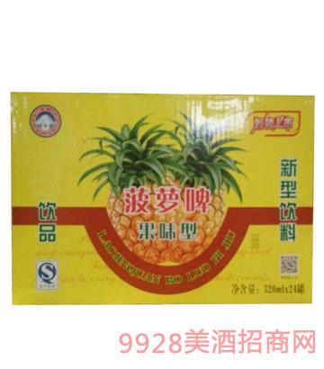 菠萝啤320mlx24罐11°P