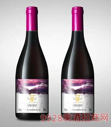 紫晶格2016花青素红葡萄酒