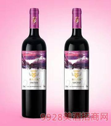 紫晶格2016花青素红葡萄酒750ml