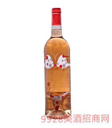 法国玫瑰甜红葡萄酒