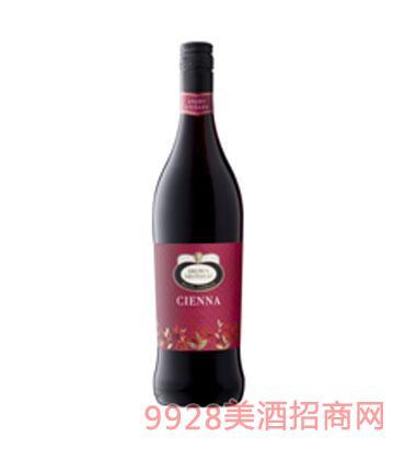 森娜甜红葡萄酒
