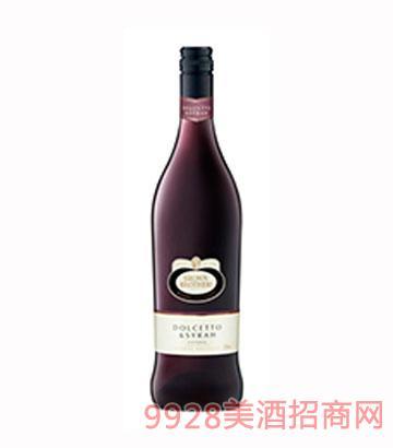 多姿甜红葡萄酒