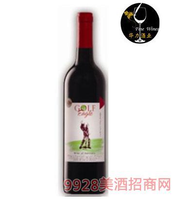 澳大利亚高球鹰皇西拉红葡萄酒