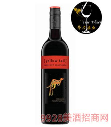 黄尾袋鼠赤霞珠干红葡萄酒